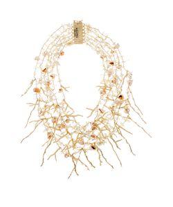 ROSANTICA BY MICHELA PANERO   Sardegna Seashell-Charm Necklace