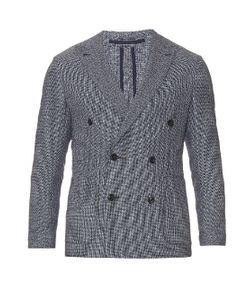 AC CANTARELLI | Double-Breasted Wool And Cotton-Blend Blazer