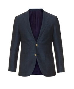 AC CANTARELLI | Two-Button Linen And Cotton-Blend Blazer
