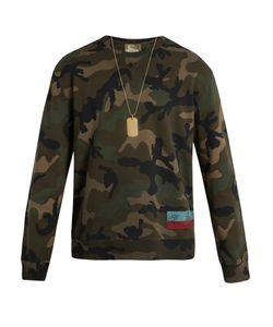 Valentino | Camouflage-Print Sweatshirt