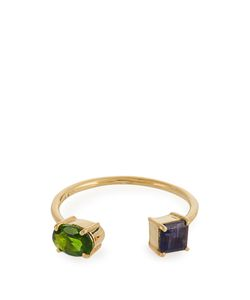 Ileana Makri | Diopside Iolite Yellow-Gold Ring