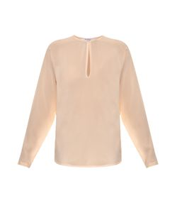 Givenchy | Pearl-Button Silk Blouse