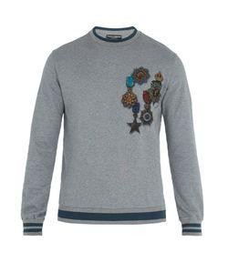 Dolce & Gabbana | Medal-Print Cotton Sweatshirt