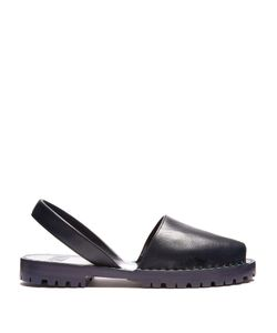 Goya | Leather Slingback Sandals