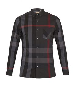 Burberry | Thornaby House-Check Cotton-Blend Shirt