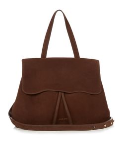 MANSUR GAVRIEL | -Lined Lady Top-Handle Suede Bag