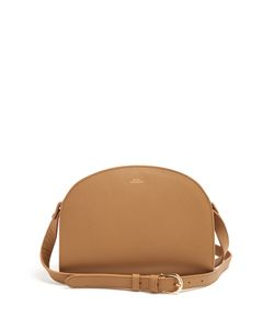 A.P.C. | Half Moon Leather Cross-Body Bag