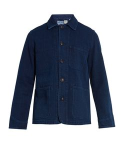 Blue Blue Japan | Patch-Pocket Cotton Jacket
