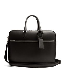 Valextra   Grained-Leather Holdall