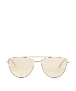 GARRETT LEIGHT | Zephyr 57 Aviator Sunglasses