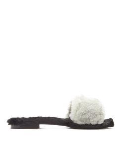 Avec Modération | Kitzbuhel Faux-Fur Slides