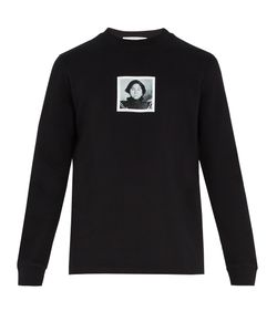 Givenchy | Portrait-Print Cotton-Jersey Sweatshirt