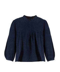 ACE & JIG | Mallorca Bell-Sleeved Cotton-Gauze Top
