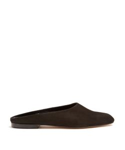 Maryam Nassir Zadeh | Maryam Backless Suede Loafers