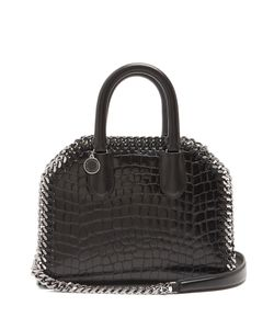 Stella Mccartney | Falabella Box Crocodile-Effect Top-Handle Bag