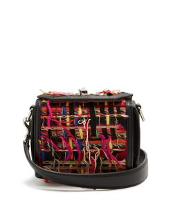 Alexander McQueen | Box 16 Tweed And Trimmed Shoulder Bag