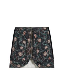 Isabel Marant | Prickly Print Quilted-Cotton Skirt