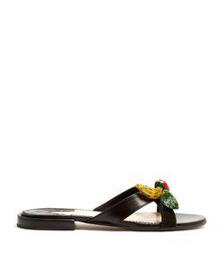 Altuzarra | Bisbee Fruit-Embellished Leather Slides