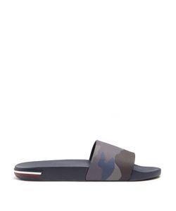 Moncler | Ivane Camouflage-Print Rubber Slides