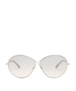 Tom Ford | Liora Round-Frame Sunglasses