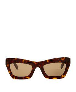 CÉLINE SUNGLASSES | Eva Rectangle-Frame Sunglasses