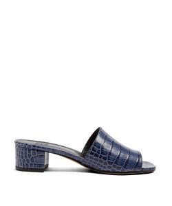 Maryam Nassir Zadeh | Sophie Crocodile-Effect Leather Sandals