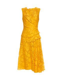 Oscar de la Renta | Sleeveless Fruit-Lace Dress