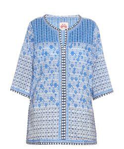 LE SIRENUSE, POSITANO | Maya Morocco-Print Cotton-Voile Kaftan