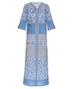 LE SIRENUSE, POSITANO | Brenda Morocco-Print Cotton-Voile Kaftan