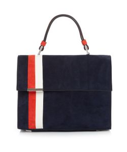 TOMASINI  PARIS | Striped Suede Tote