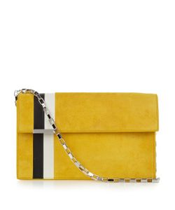 TOMASINI  PARIS | Et004 Striped Suede Shoulder Bag