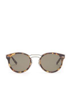 DIOR HOMME SUNGLASSES | Dior0209s Round-Frame Sunglasses