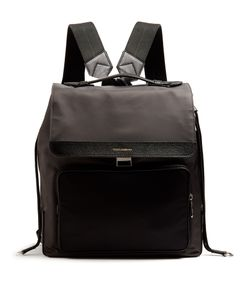 Dolce & Gabbana | Leather-Trimmed Backpack