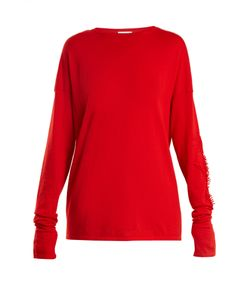 BARRIE | Thistle Crew-Neck Cashmere Sweater