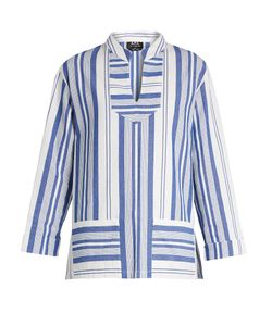 A.P.C. | Tinos Striped Cotton Top