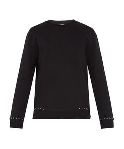 Valentino | Rockstud Untitled 8 Cotton-Blend Sweatshirt