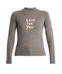Bella Freud | Love For You Cashmere-Blend Sweater