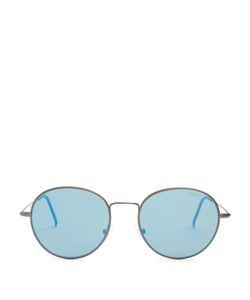 RETRO SUPER FUTURE | Wire Zero Mirrored Sunglasses