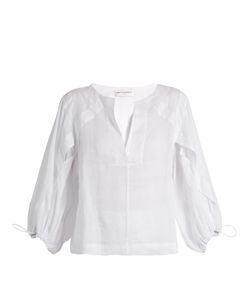Amanda Wakeley | Lyrical Linen Blouse