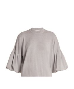Tibi | Puff-Sleeved Wool Sweater