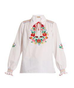 MUZUNGU SISTERS | Dora Embroidered Cotton Shirt