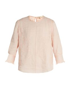 Vanessa Bruno | Gwenael Linen And Cotton-Blend Blouse