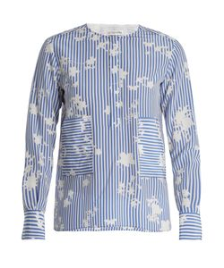 Altuzarra | Carnegie Patch-Pocket Silk Top