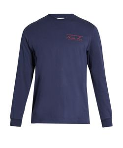 MARTINE ROSE | Logo-Print Cotton-Jersey Long-Sleeved T-Shirt