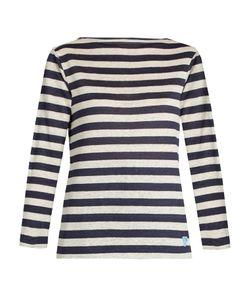 ORCIVAL   Breton-Striped Linen Top