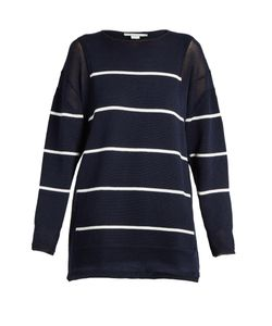 Stella Mccartney | Deconstructed Striped Cotton Sweater