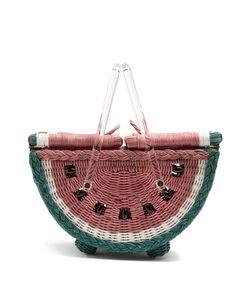 Charlotte Olympia | Watermelon Basket Bag