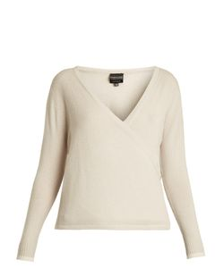 PEPPER & MAYNE | Signature Wrap-Over Cashmere Top