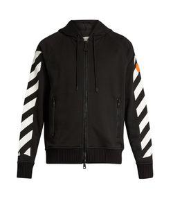 Moncler O   Zip-Through Cotton-Jersey Sweatshirt