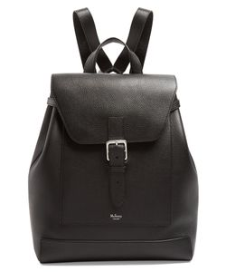 Mulberry | Chiltern Grained-Leather Backpack